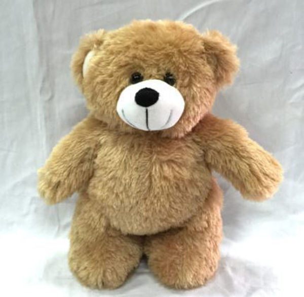 Picture of 30cm Brown Standing Bear  with tee