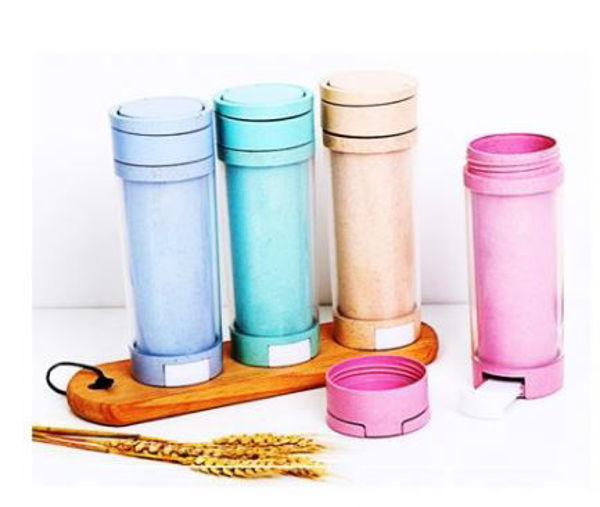 Picture of Eco friendly bottle with phone holder