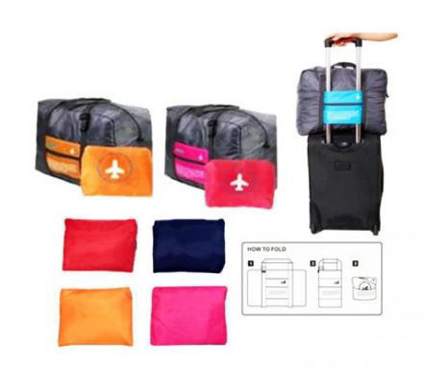 Picture of Foldable Travel Bag (Base color: Grey)