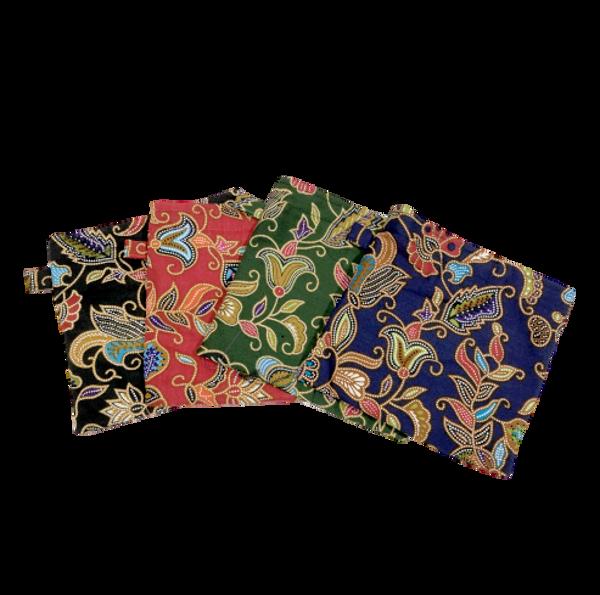 Picture of Batik Face Mask pouch