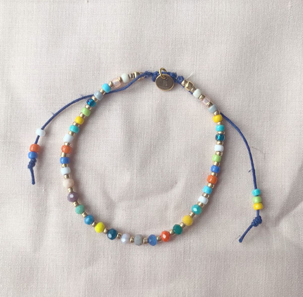 Picture of Handmade Jewellery / Bracelet - Shades of Spring 2