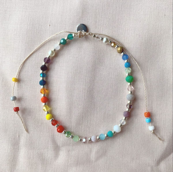 Picture of Handmade Jewellery / Bracelet - Shades of Spring