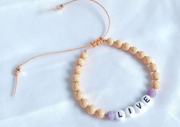 Picture of Customisable Handmade Jewellery / Bracelet - Mantra Collection