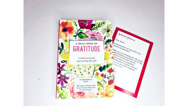 Picture of Personalised Journal with Customised Cards
